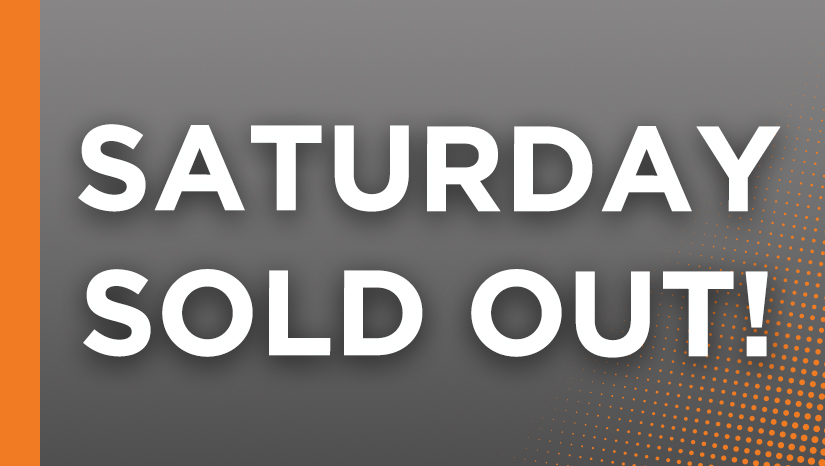 Saturday Sold Out Website Image