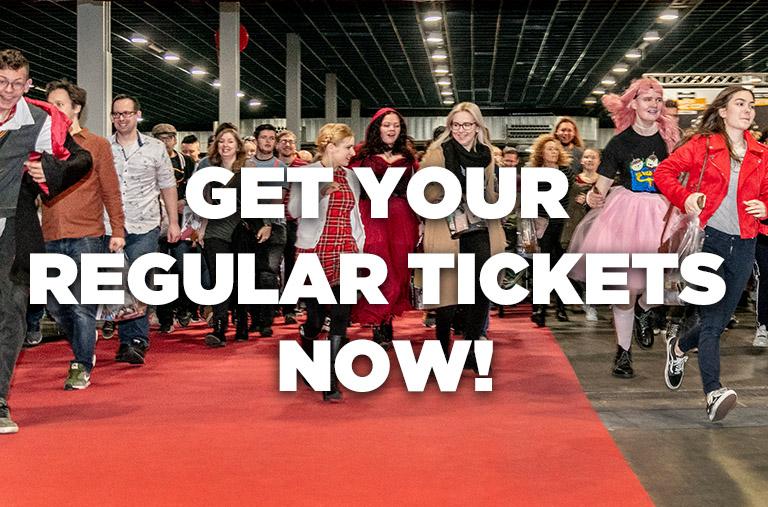 Get your Regular Tickets now!