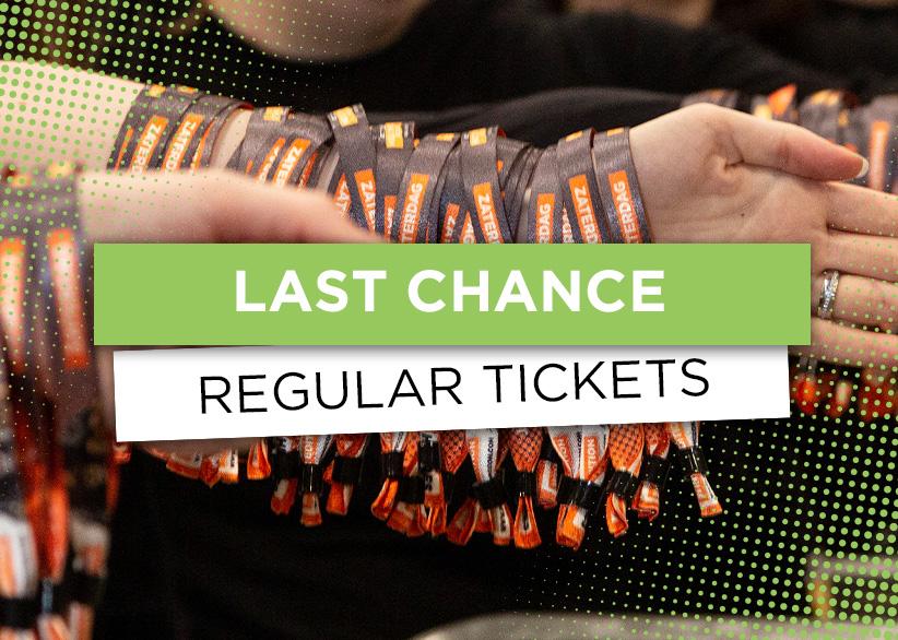 Last Chance regular tickets