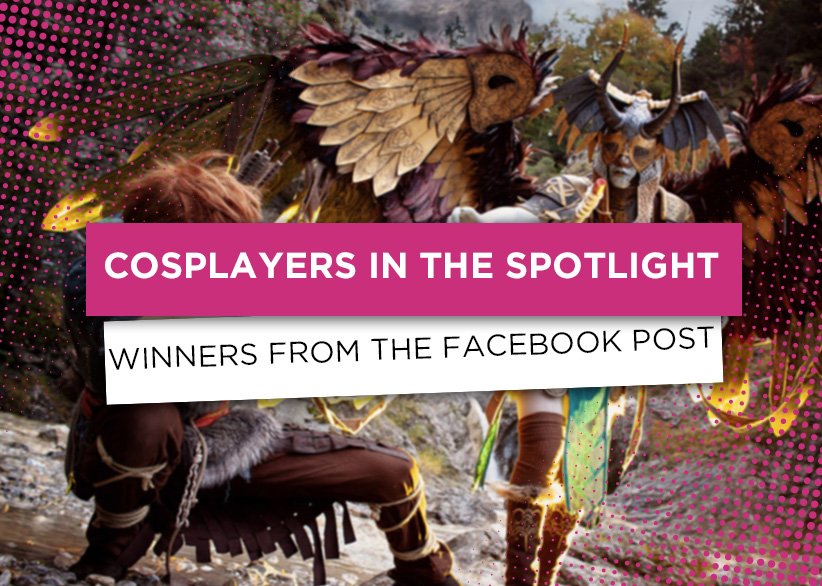 cosplayers in the spotlight