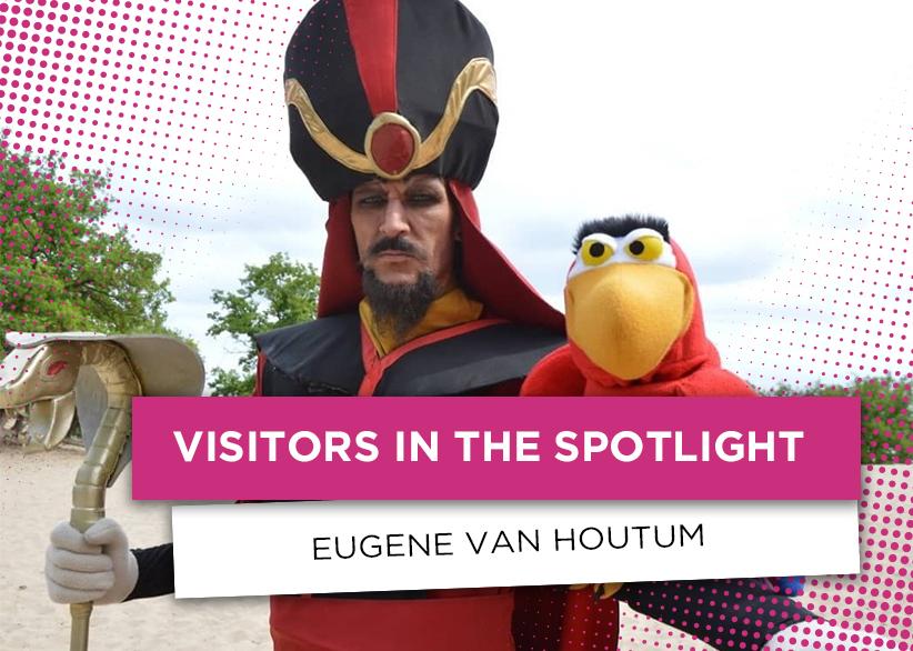 visitors in the spotlight