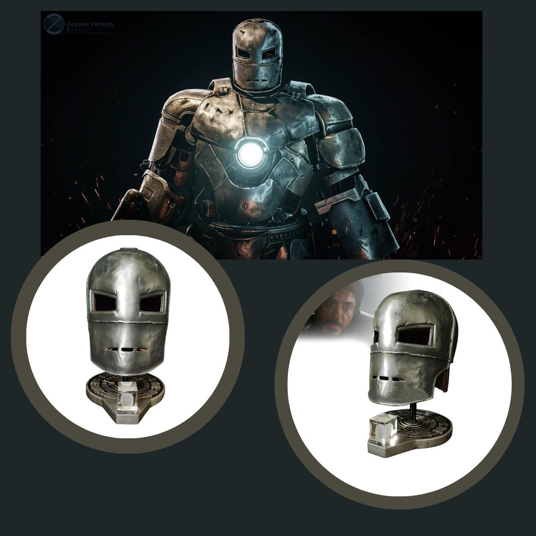 Marvel Avengers – Iron Man's Mark 1 Helmet