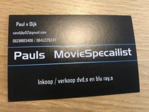 Paul's Moviespecialist