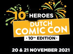 Heroes Dutch Comic Con - 20 en 21 november 2021