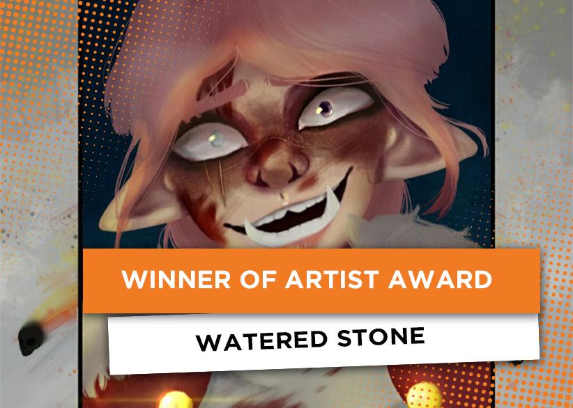Watered Stone